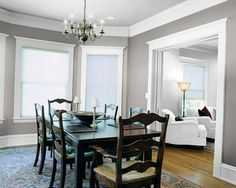 decor, dining rooms, idea, paint color, dine room, room color, colors, sherwin william, hous