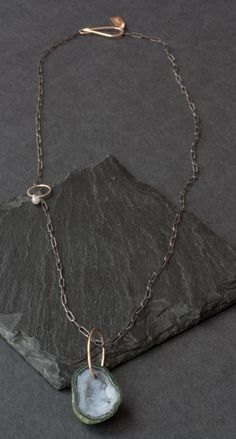 geode diamond necklace ++ alexis russell