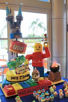 Legoland Birthday Cake