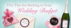 Awesome tips on how to plan a beautiful wedding event on a budget: blog.stickeryou.c...
