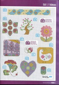 Gallery.ru / Фото #13 - Cross Stitch Crazy 166 август 2012 + приложение Free Вest of - tymannost