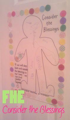 Consider the Blessings FHE