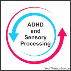 Are children with ADHD at greater risk for sensory processing difficulties? Repinned by SOS Inc. Resources pinterest.com/sostherapy/.