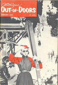 1952 michigan skiing