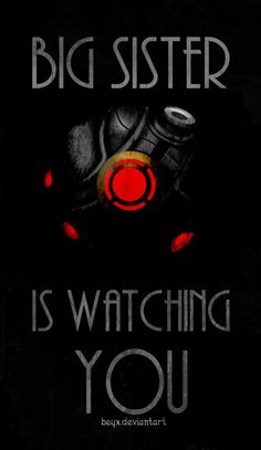 Big Sister is Watching You....