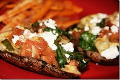 Stuffed Portobello Mushrooms... great neutral recipe for ALL steps of The Metabolism Miracle/Diabetes Miracle