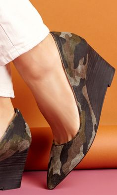 Loving this camo wedge