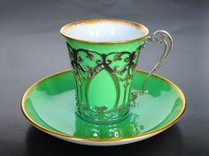 Aynsley teacup UK 1909