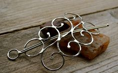 Scarf Pin Or Shawl Pin by skydesign