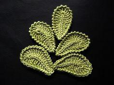 Crochet Leaves Tutorial