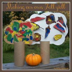 Hey Mommy, Chocolate Milk: Fall themed activities for preschool.