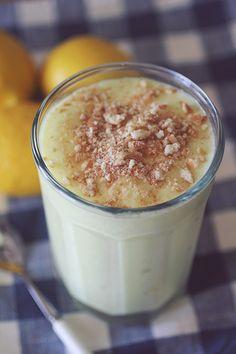 Lemon Cream Pie Protein Shake