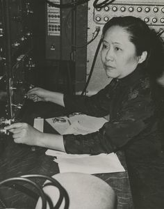 Chien-shiung Wu (1912-1997)    Columbia University    Physics       -Women scientists