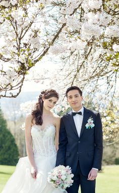 Under the Cherry Blossom Trees - L'Estelle Photography
