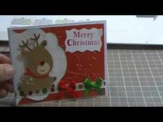 Create A Critter Christmas Card