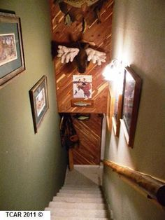 I want to do this to our stairwell in Sonora.