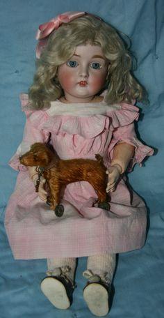German made Kestner doll, mold 167.