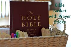 This is such a neat and easy way to be intentional about prayer for the WHOLE family. Love it.
