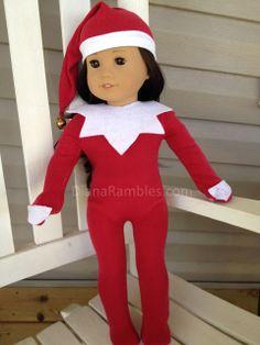 American Girl Doll Elf on the Shelf