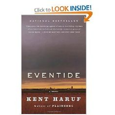 """Eventide"" by Kent Haruf is recommended by Stacy Dean Campbell from the television series 'Bronco Roads'"