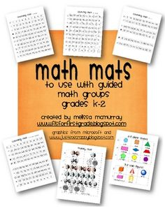 guided math mats