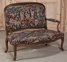 Antique seating sofas and armchairs on pinterest louis for What does canape mean in french