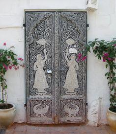 Mosaic Door - Armenian Quarter, Jerusalem