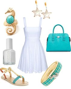 """""""Day at Sea"""" by sweetsummersunshine on Polyvore"""