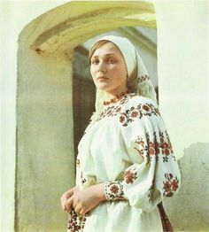 A Belarusian folk costume.