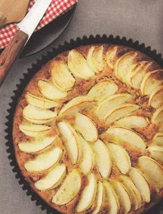 Apple Cake with Biscoff