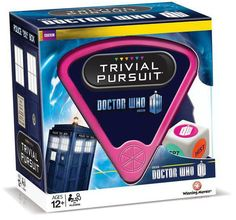 Doctor Who Trivia Pursuit geek, whovian, nerd, 50th anniversary, stuff, doctor who, doctors, trivial pursuit, thing
