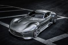 Mercedes-Benz AMG Vision PS4 Gran Turismo virtual supercar