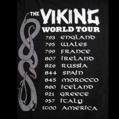 histori, vikings, stuff, scandinavian ancestri, tour mous, vike