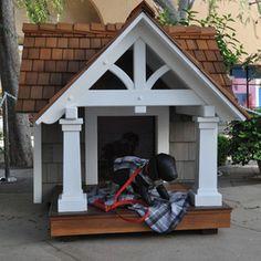 Inthedoghouse On Pinterest Dog Houses Dog House Plans
