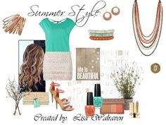 Make a statement with your Summer Style with Premier Designs Jewelry!  Crush bracelet set, Casablanca earrings, Crème Brulee, Pistachio and Fired Up bracelets, Papaya necklace and Jasmine ring.
