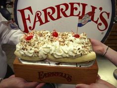 Loved going to Farrell's!!