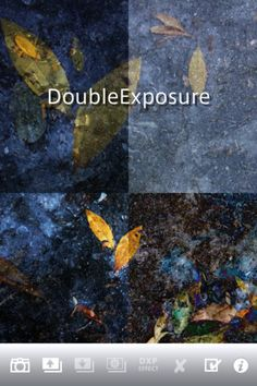 DXP is multi exposure camera application.  You can choose a effect from 18 compositing operations.  And Rotate, Mirror and B effects are available.