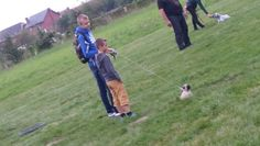 My both sons at the puppytraining....