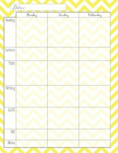 Great planner template on TPT!