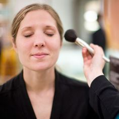 To get a natural look, apply bronzer where the sun naturally hits -- never all over: http://www.bhg.com/beauty-fashion/makeup/fake-a-tan-fast/?socsrc=bhgpin060214wheretoapply&page=4