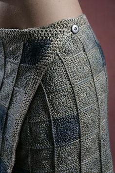 Sea Pebble Wrap Skirt pattern by Amy Swenson from the book Sensual Crochet