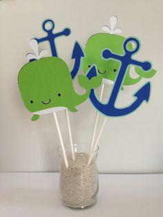 Its A boy Banner Nautical Theme Baby Shower Sail