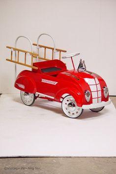 Fire Truck | Children's Pedal Car