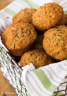 Zucchini Applesauce Muffins (gluten-free) Recipe - RecipeChart.com