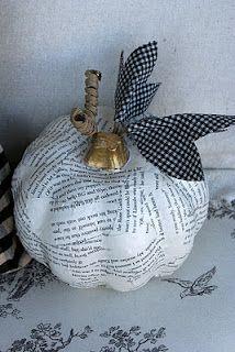 mod podge pumpkin