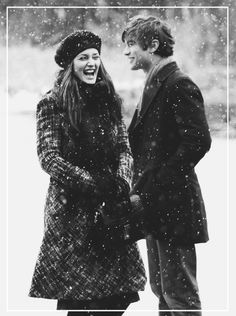 winter snow, peopl, gossipgirl, nate, blair waldorf, gossip girl, xoxo, winter engagement photos, leighton meester