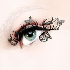 Butterfly lashes #halloween