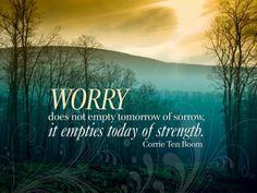 christians, quotes, strength, corrie ten boom, dutch, inspir, corri ten, empti today, worri