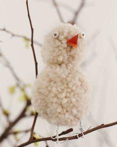 SweetPaulMag.com: Wool Easter Chick