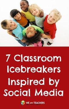 From Facebook to Instagram, 7 Social Media-Inspired Icebreakers.